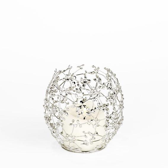 Euora Windlicht, 14 cm Durchmesser, Lambert