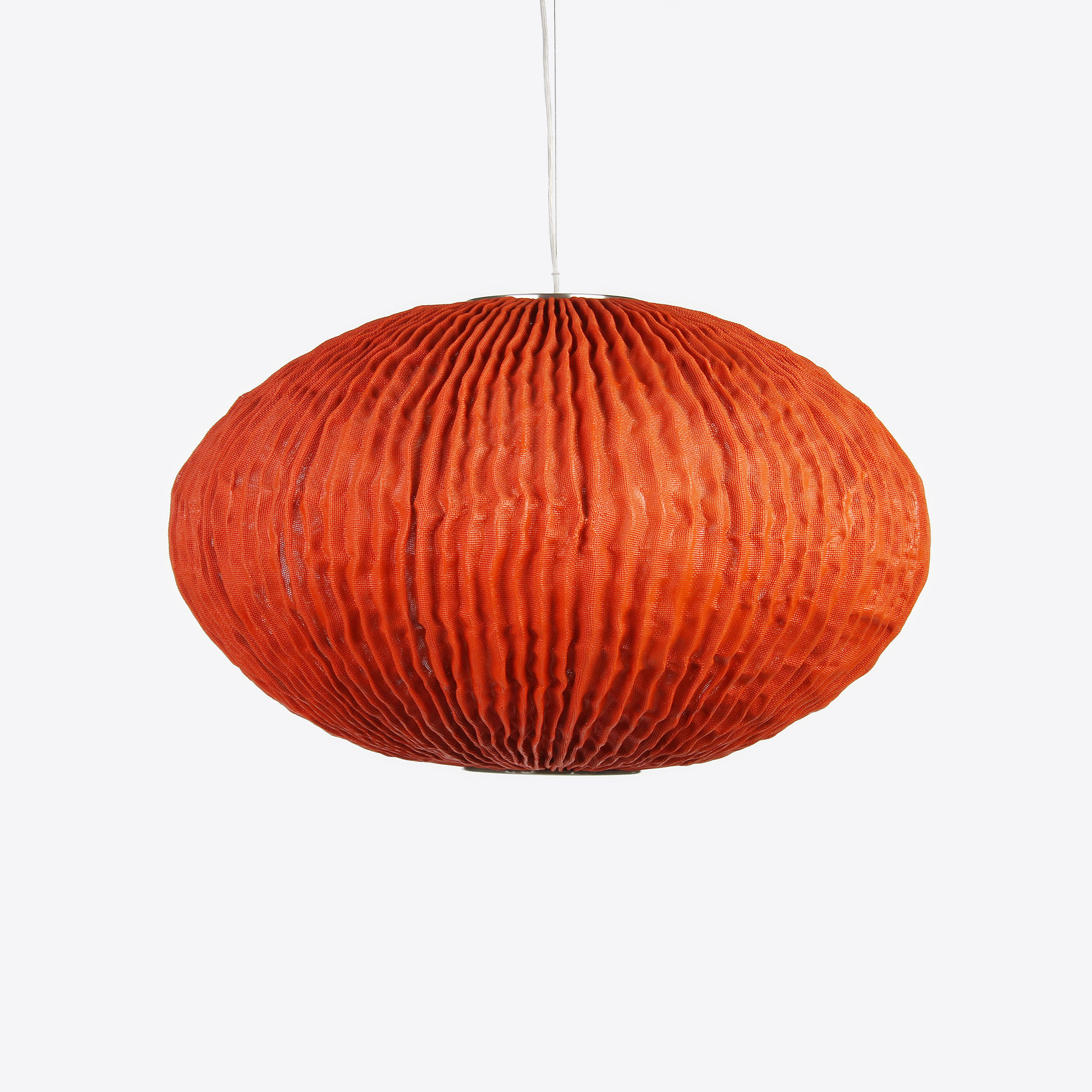 Coral Seaurchin Pendelleuchte - orange