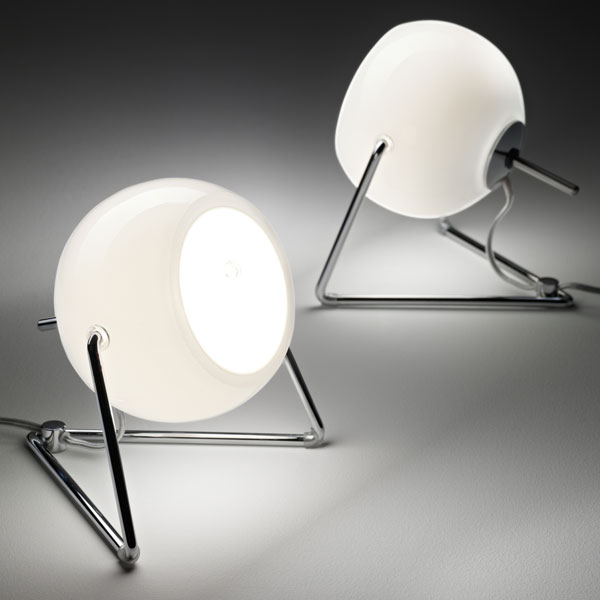 Beluga White Table Lamp B07