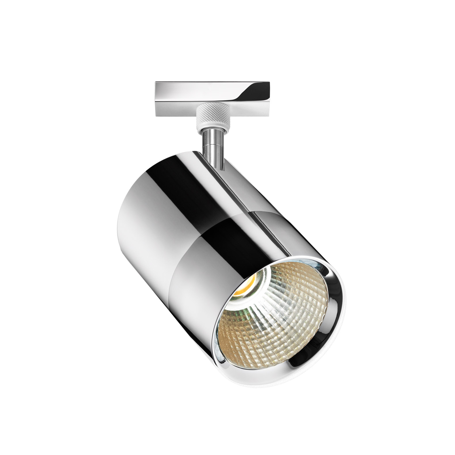 Bruck Duolare Act LED Spot, chrom.