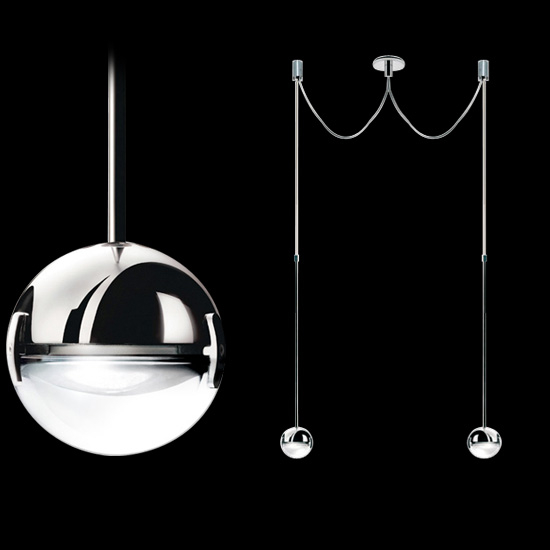 Convivio New LED Sopratavolo Due Pendelleuchten 2-flammig