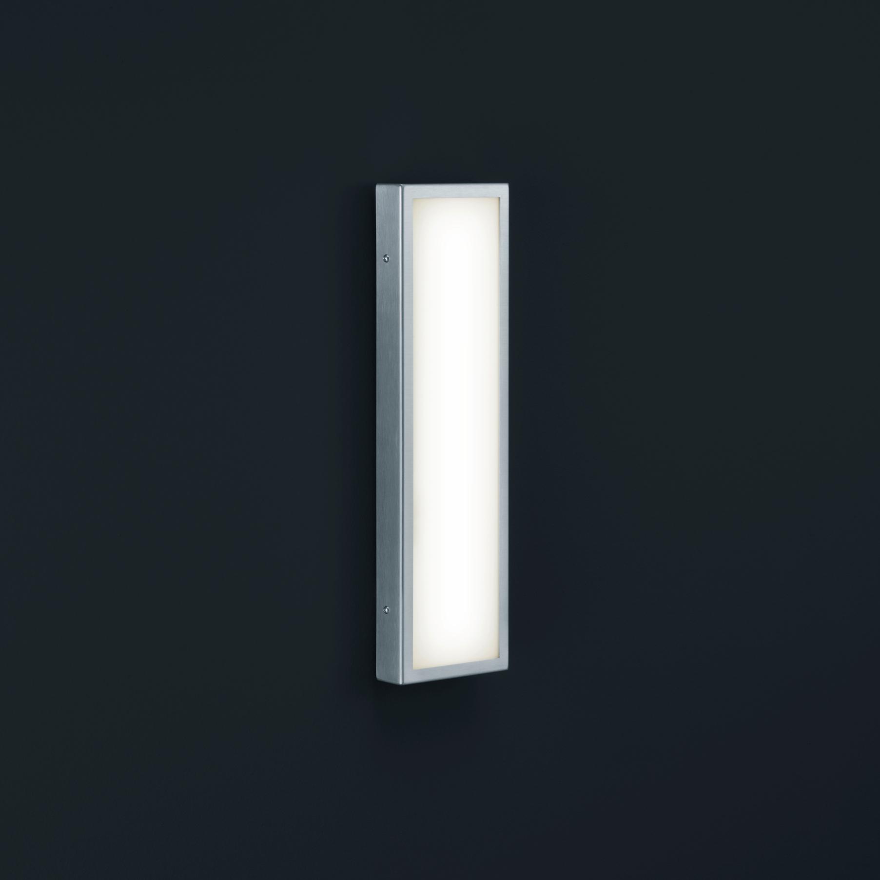 Helestra Scala LED Wandleuchte rechteckig.