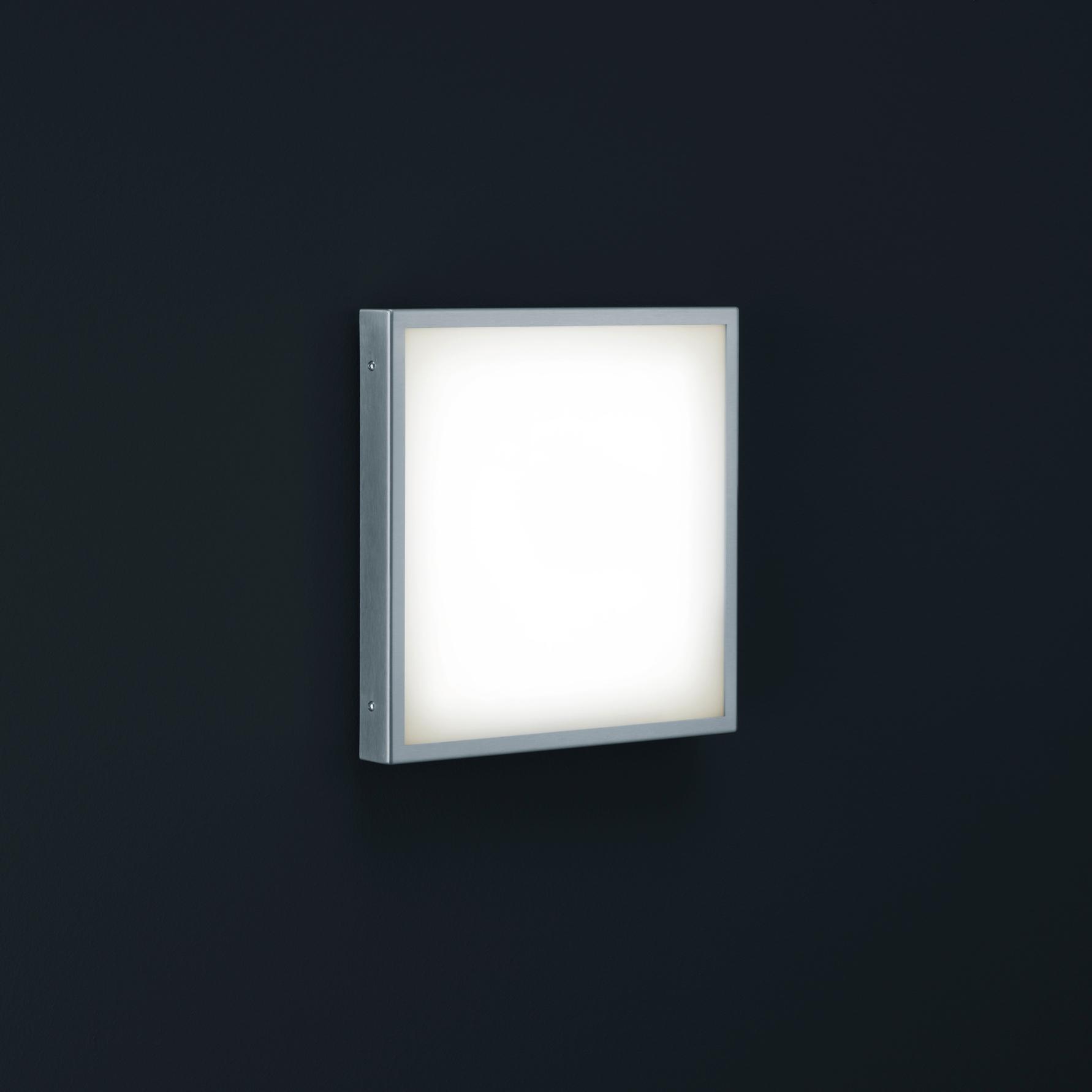 Helestra Scala LED Wandleuchte quadratisch.