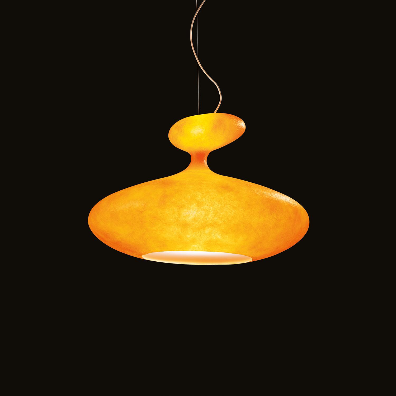 E.T.A. SAT Pendelleuchte orange