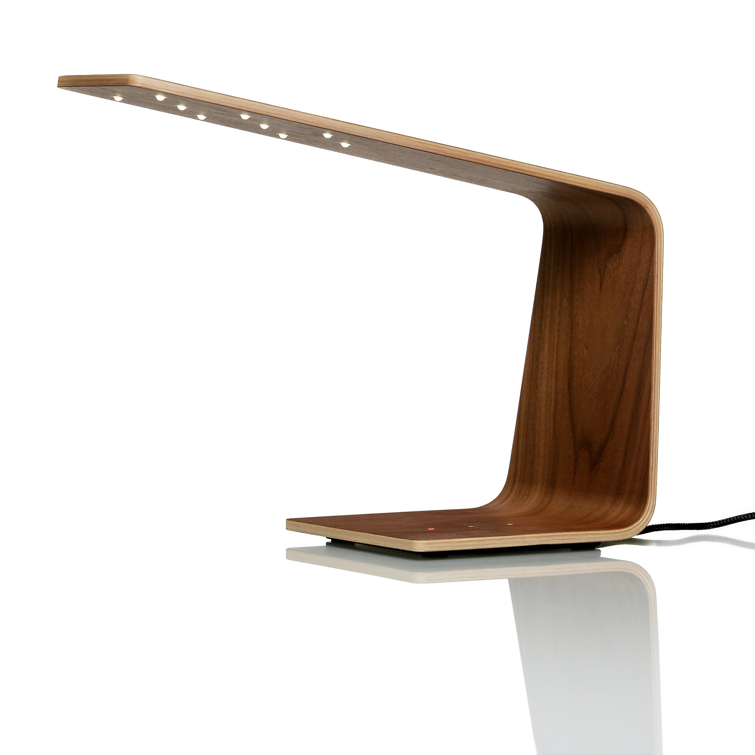 LED1 Table Lamp - Walnut