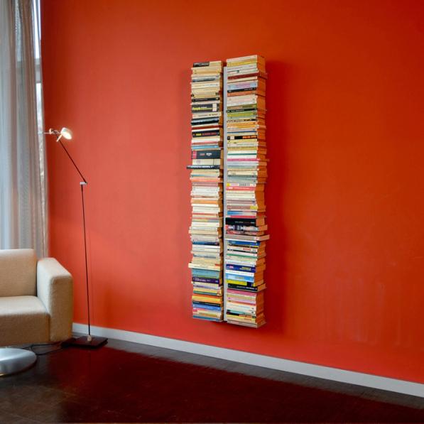 Booksbaum groß (Wall Double) - silber
