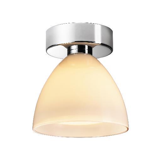 Silva Down 110 ceiling light creme, chrome
