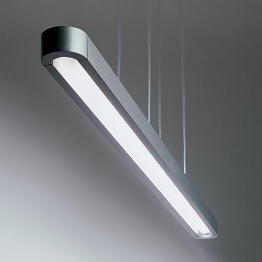 Talo LED Sospensione Pendelleuchte 90,120, 150, silbergrau, Artemide