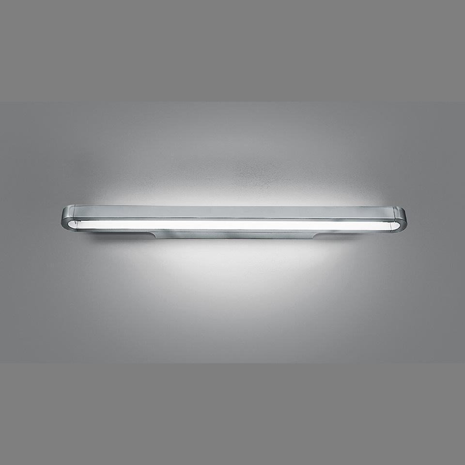 Talo LED Parete Wandleuchte 90,120, 150, silbergrau, Artemide