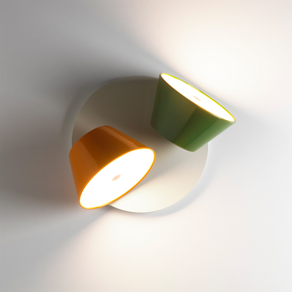 Tam Tam A2 zweiflammig orange grün