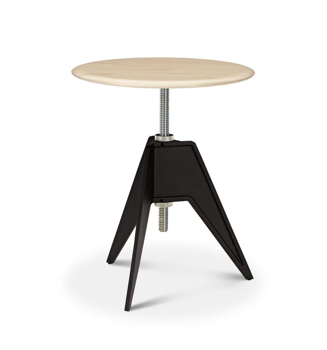 Screw Table Café Round ∅ 60 cm - Birke