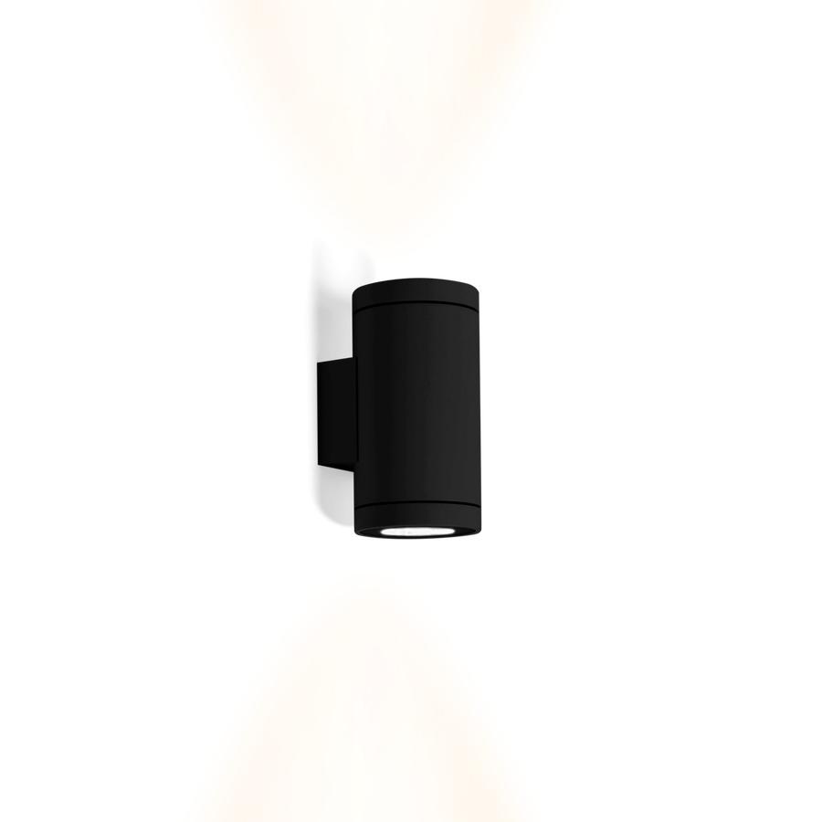 Tube 2.0 Outdoor LED Wandleuchte schwarz