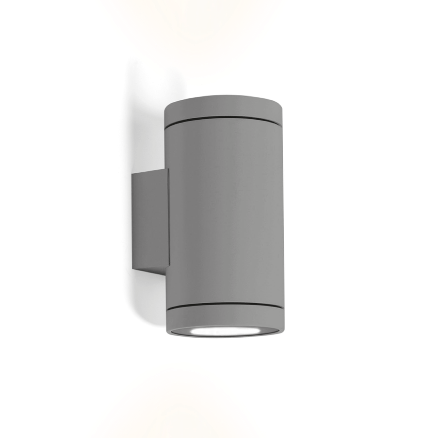Wever & Ducré Tube 2.0 Outdoor LED Wandleuchte - dunkelgrau.