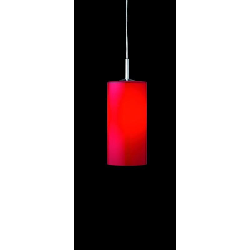 Pendelleuchte 18300-18315, Opal rot, Holland & Holland