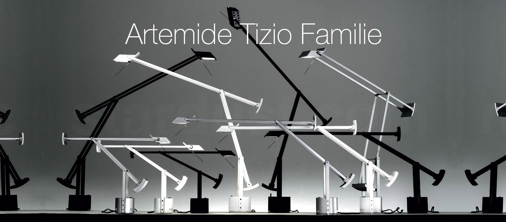 Artemide Tizio Familie
