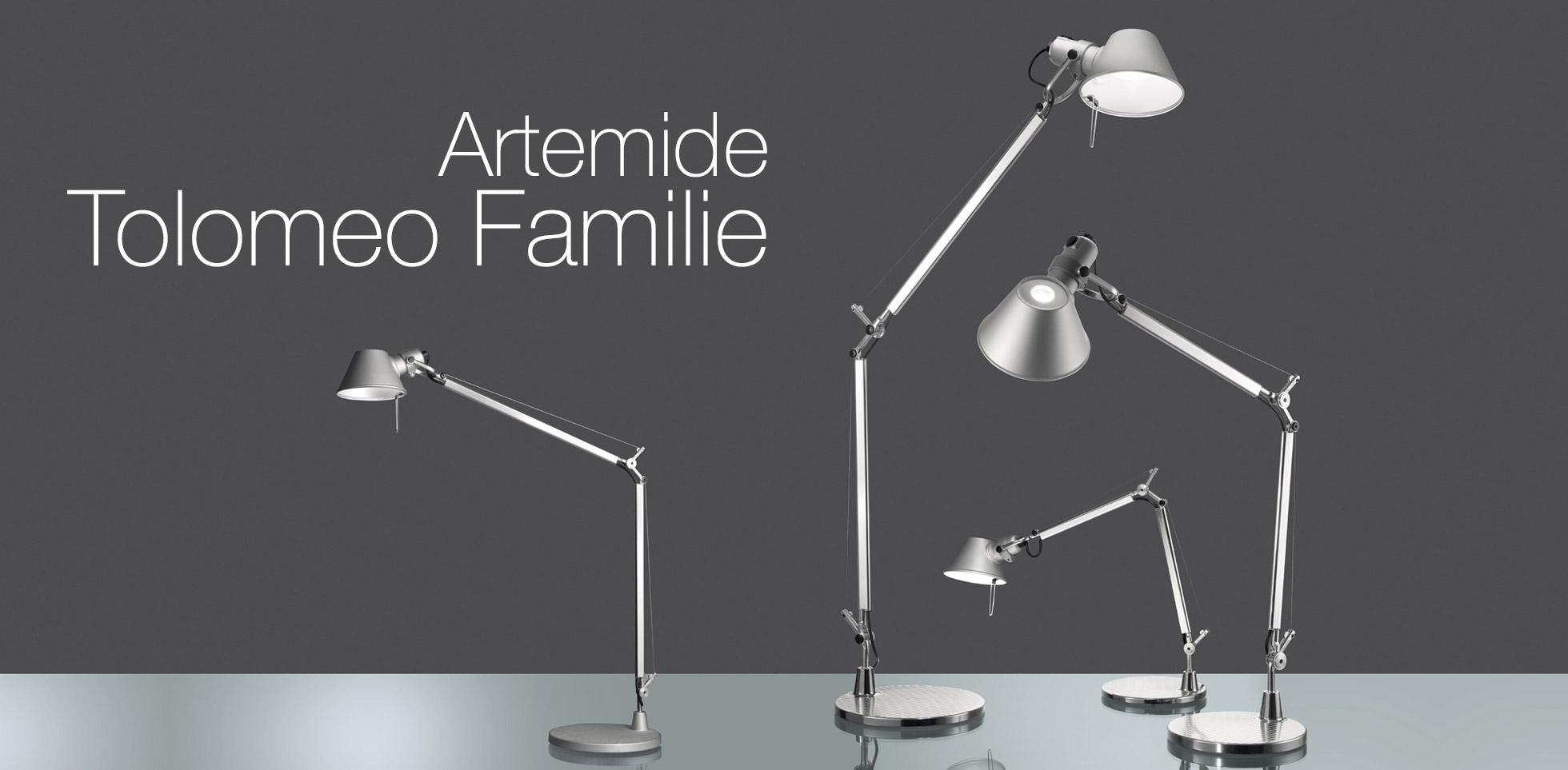 Artemide tolomeo Familie