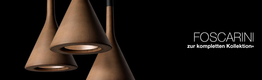 Foscarini Kollektion aller Leuchten und Lampen