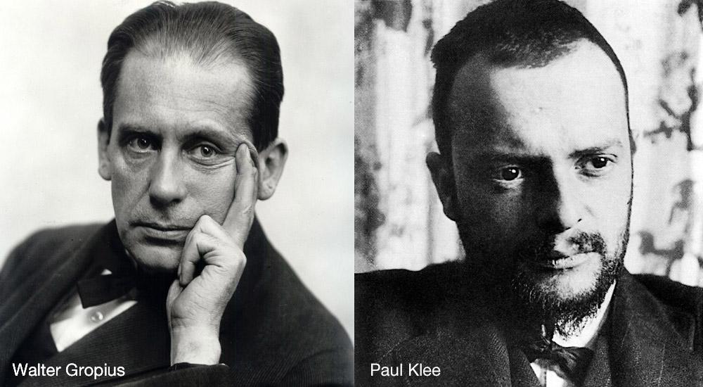 Gropius und Klee